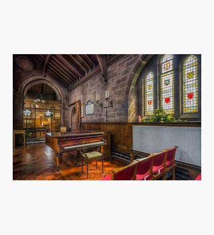 Church Piano Photographic Print