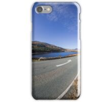 The Road To Snowdon iPhone Case/Skin