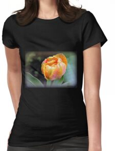 Golden Globe Womens Fitted T-Shirt