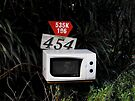 Microwave Mailbox by Kayleigh Walmsley