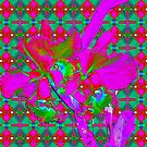 Psychedelic Orchids by Margaret Stevens