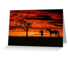 Are we the last living souls? Greeting Card