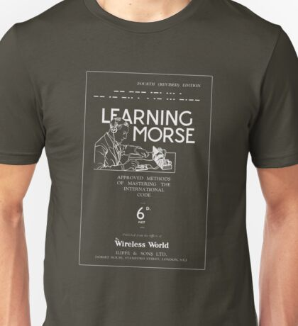 Learning Morse - Dark Unisex T-Shirt