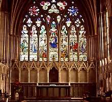 Lady Chapel, Exeter Cathderal by Andrew  Bailey
