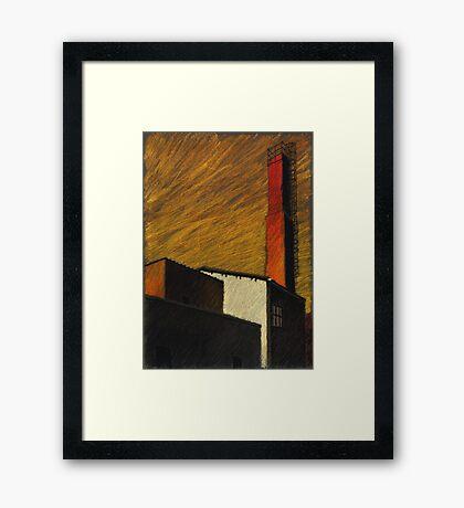 alter Heizer Framed Print