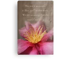 She Was A Miracle Metal Print