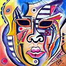 Kandinsky's mask by Eno Bare