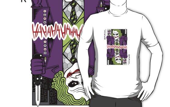 Joker - playing card by MrWhaite