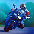 Franklin Canyon - Triumph Sprint by Brian Commerford