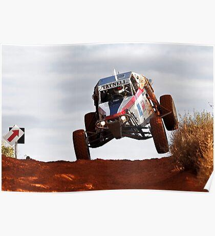 Car 10 - Finke 2011 Day 1 Poster