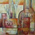 Orange cobblestone by Artden