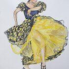 Flamenco - Yellow by Anastasia Zabrodina