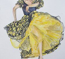 Flamenco - Yellow by Anthropolog