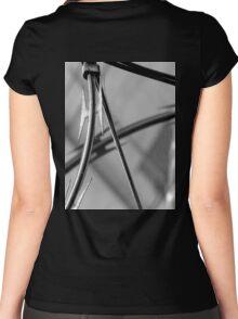 Sharp focus Women's Fitted Scoop T-Shirt