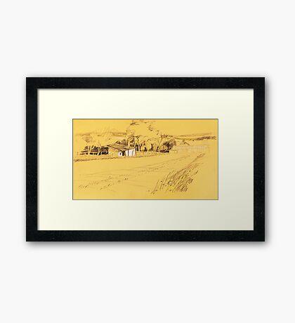 GartenEremit Framed Print