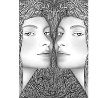 The Mirror Slips Photographic Print