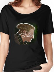 Anders - A World Worth Saving Women's Relaxed Fit T-Shirt