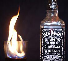 Flaming JD  by Isaac Circuit
