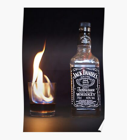 Flaming JD  Poster