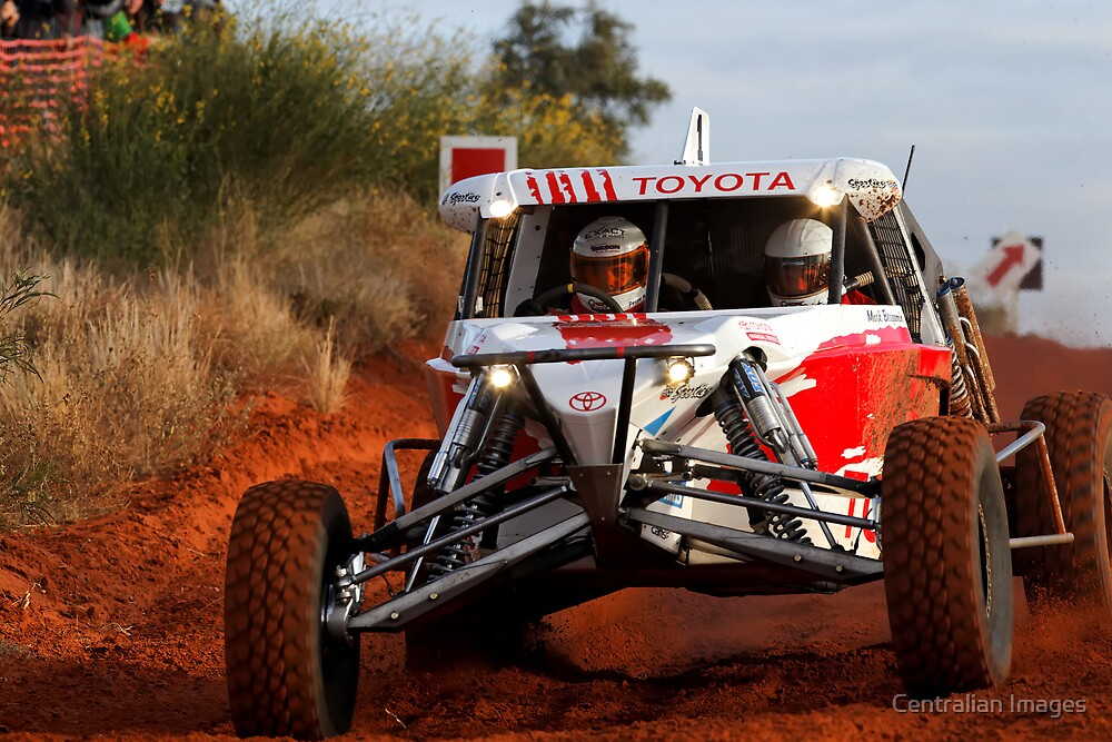 Car 1 - Finke 2011 Day 1 by Centralian Images