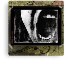 Sick boy Canvas Print