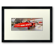 Red 3 Cosford  Framed Print
