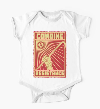 Combine Resistance One Piece - Short Sleeve