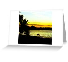 Summer Silhouettes Greeting Card