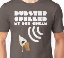 Dubstep Spilled My Icecream - Vanilla Unisex T-Shirt