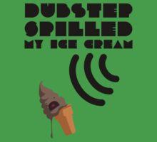 Dubstep Spilled My Icecream - Chocolate One Piece - Short Sleeve