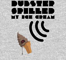 Dubstep Spilled My Icecream - Chocolate Unisex T-Shirt