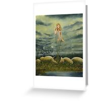 Secret Window Greeting Card