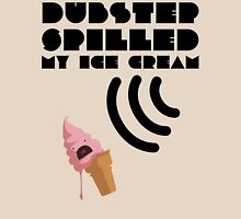 Dubstep Spilled My Icecream - strawberry Womens Fitted T-Shirt