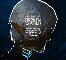 Fenris - The Chains Are Broken by evelineverburg