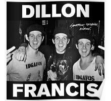 Dillon Francis x3 Poster