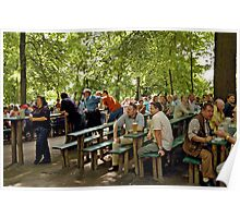 Bergkirchweih, Erlangen, Germany 2006. Poster