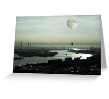 Moonflight Greeting Card