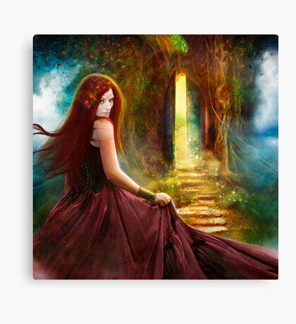 When Inspiration Knocks Canvas Print