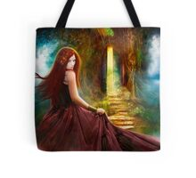 When Inspiration Knocks Tote Bag