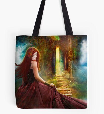 When Inspiration Knocks Tote Bag