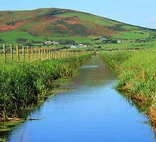 Dysinni River North Westt Wales by angel1978