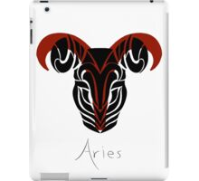 Aries with symbol iPad Case/Skin