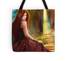 When Inspiration Knocks - card Tote Bag