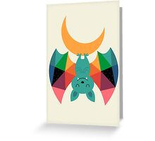 Moon Child Greeting Card