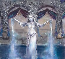 Mari Goddess of the Flowing waters  by Tilly Campbell-Allen