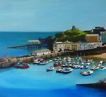 Tenby Harbour by Jenny Urquhart