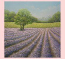 Mayfield Lavender in Bloom, Carshalton, Surrey One Piece - Short Sleeve