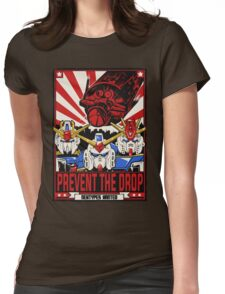 Prevent the Drop Womens Fitted T-Shirt