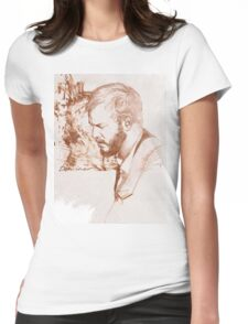 Bon Iver / Justin Vernon Womens Fitted T-Shirt