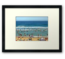 Bar Beach, Newcastle, NSW Framed Print